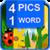 4 Pics 1 Word New ~ Word Quiz icon