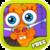 Cartoon Carrot Nose Doctor icon