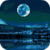 Blue Moon Night Live Wallpaper icon