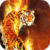 Tiger On Flames Live Wallpaper icon