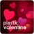 Plastic Valentine live wallpaper app for free