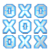 Tic Tac Toe Star Lite app for free