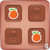 Match Cards Fruits And Veggies icon