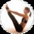Pilates exercises app icon