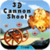 3D Cannon Shoot icon