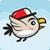 Cap bird icon