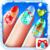 Christmas Nail Art app for free