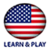 Learn and play US American English free app for free
