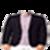 Man jacket photo suit app-1 icon