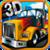3d American Truck icon