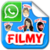 Filmy Stickers - Chatting app for free