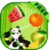 PANDA FRUITS CUTTER icon