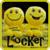 Happy Yellow Smileys Locker icon