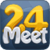 Meet24 - Fall in love app for free