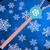 Snowflake Zipper Lock Screen app for free