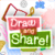 Draw and Share icon