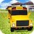 Flying School Bus simulator app for free