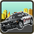 Highway police car race icon