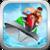 Crazy boat racing icon
