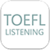 Simple TOEFL Listening app for free