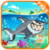 SHARK IN SEA icon
