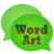 WordArt Chat Sticker WC Free app for free
