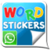 Word sticker Whatsapp app for free