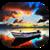 Rain Boat Live Wallpaper icon