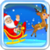 Flying Santa Claus icon
