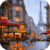 Raining In Paris Live Wallpaper app for free