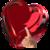 Valentine Photo in Hearts icon