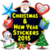 Christmas and New Year Stickers 2015 icon