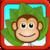 Crazy Monkey vs Jumpy Orange icon