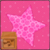 Pink Love Sparkle Star Live Wallpaper icon