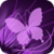 Lilac Butterfly Live Wallpaper app for free