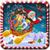 Flying  Santa  icon