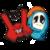 X vs O funny Tic Tac Toe icon