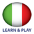 Learn and play Italan free app for free