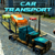 Car Transport Trailer Truck 4d icon