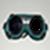 Photo frame of gogles  icon