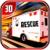 City Ambulance Rescue Drive 3d icon