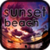Sunset Beach HD Wallpaper icon