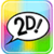 Text 2D icon