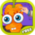 Cartoon Carrot Eye Doctor icon