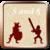Swords sandals icon