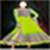 Pic of Anarkali dress suit photo  icon