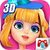 3D Star Fashion Makeover icon