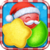 Christmas candy new icon