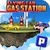 Flying Car Gas Station Parking icon
