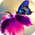 Butterfly On Tulip Live Wallpaper app for free